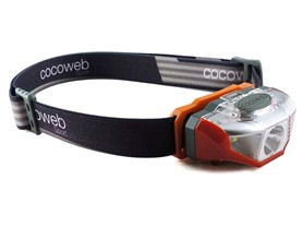 LED Water Resistant Headlamp - 4 Colors
