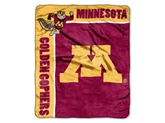 Minnesota Plush Throw