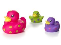 Light Up Ducks - Pink
