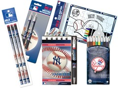 8 Teams - MLB Team Notepad Set