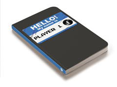 Hello My Name is Player 1 Journal
