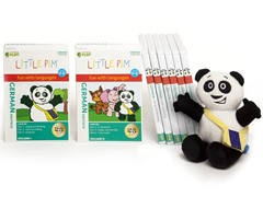 Volume 1 & 2 Sets with Panda - German