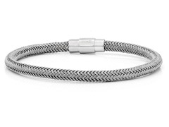 Grey Cable Wire Bracelet