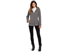 Anne Klein Women's Kay Coat, Light Grey