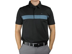 Travis Mathew Vicente Polo, Black (S)