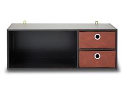 Wall-mounted Storage w/2 Bin Drawers