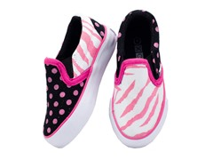 Zany Zebra Slip-on (Toddler 6 - Youth 5)