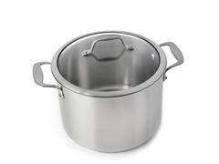 8-Quart Covered Stock Pot