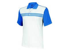 Climacool 3-Stripes Polo, White/Oasis