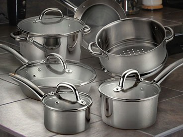 T Fal 10-Piece Cookware Set