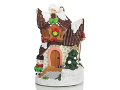 Christmas House Statue D