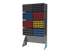 Akro-Mils Double Row Storage Rack