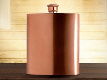 W&P Designs Copper Flask