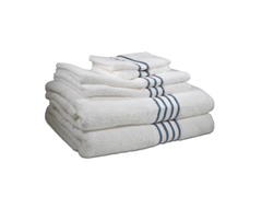 600GSM-6PC Pima Cotton Towel Set-8 Colors