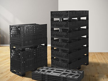 Polymer Collapsible Crates