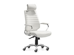 Zuo Enterprise High Back Office Chair White