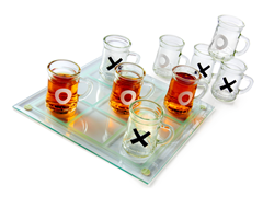 Beer Mug Tic-Tac-Toe Game
