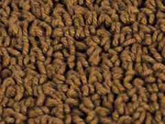 Reversible Cotton Rug -Bronze