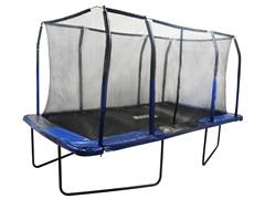 8' x 14' Rectangular Trampoline w/Enclosure Feature