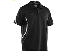 Signature On-Field Polo - Black/White