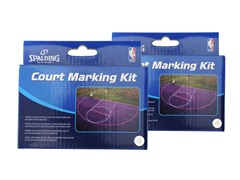 Spalding Basketball Court Kit 2pk