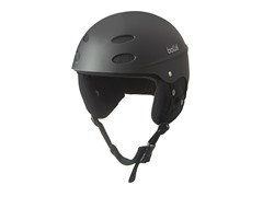 Matte Black Logo ABS Helmet - Black