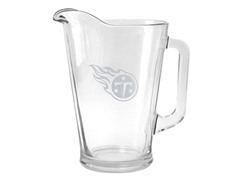 Titans Satin Etched Pitcher