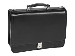 "River North Leather 15.4"" Briefcase"