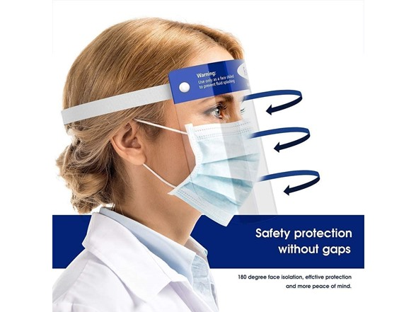 Image of Reusable Face Shields (10-pack)