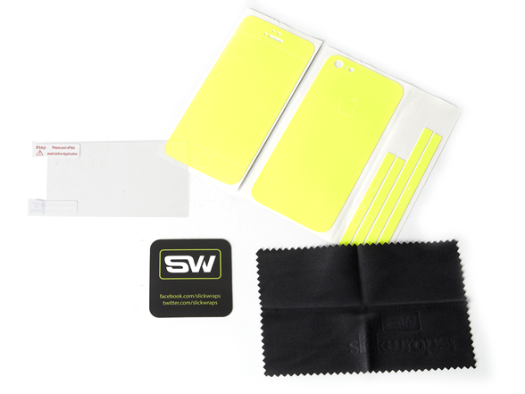 Yellow Glow Wrap for iPhone 5