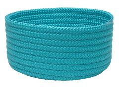 Turquoise Woven Storage Basket - 3 Sizes