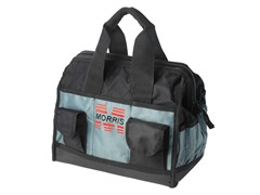 12-Inch Tool Bag, Black and Gray