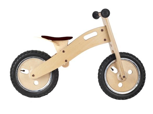 Wooden Balance Bike Your Choice Kids Woot