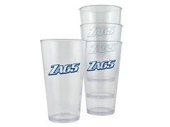Gonzaga Plastic Pint Glasses 4-Pk