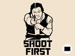 Trooper Target Practice Poster