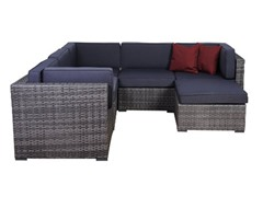 Bellagio 6-Piece Wicker Seating Set