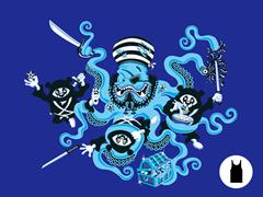 Ninja Pandas vs Pirate Octopus U Tank