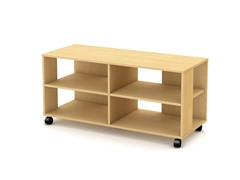 Jambory TV Stand/Storage Unit Maple