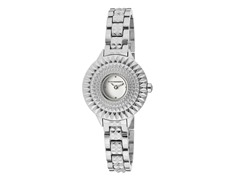 BCBG Jolie Stainless Steel Round Watch
