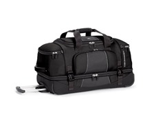 High Sierra Elevate Drop Bottom Duffel - Black