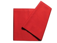 Textile Tablecloth - Red  60 x 98
