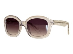 Kendall Sunglasses, Clear Scatter