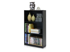 Basic 3-Tier Bookcase- 2 Colors