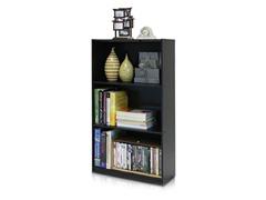 Basic 3-Tier Bookcase- 2 Colors