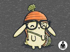 Ironic Bunny LW Zip Hoodie