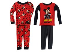 Mickey Mouse 4-Piece Set (2T-3T)