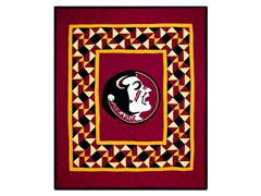 Florida State Quilted Throw B