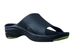 Women's Premium Slide, Navy / Lime Green