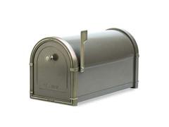 Coronado Mailbox, Graphite Bronze