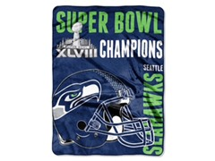 Seahawks 2014 Super Bowl Champs Throw